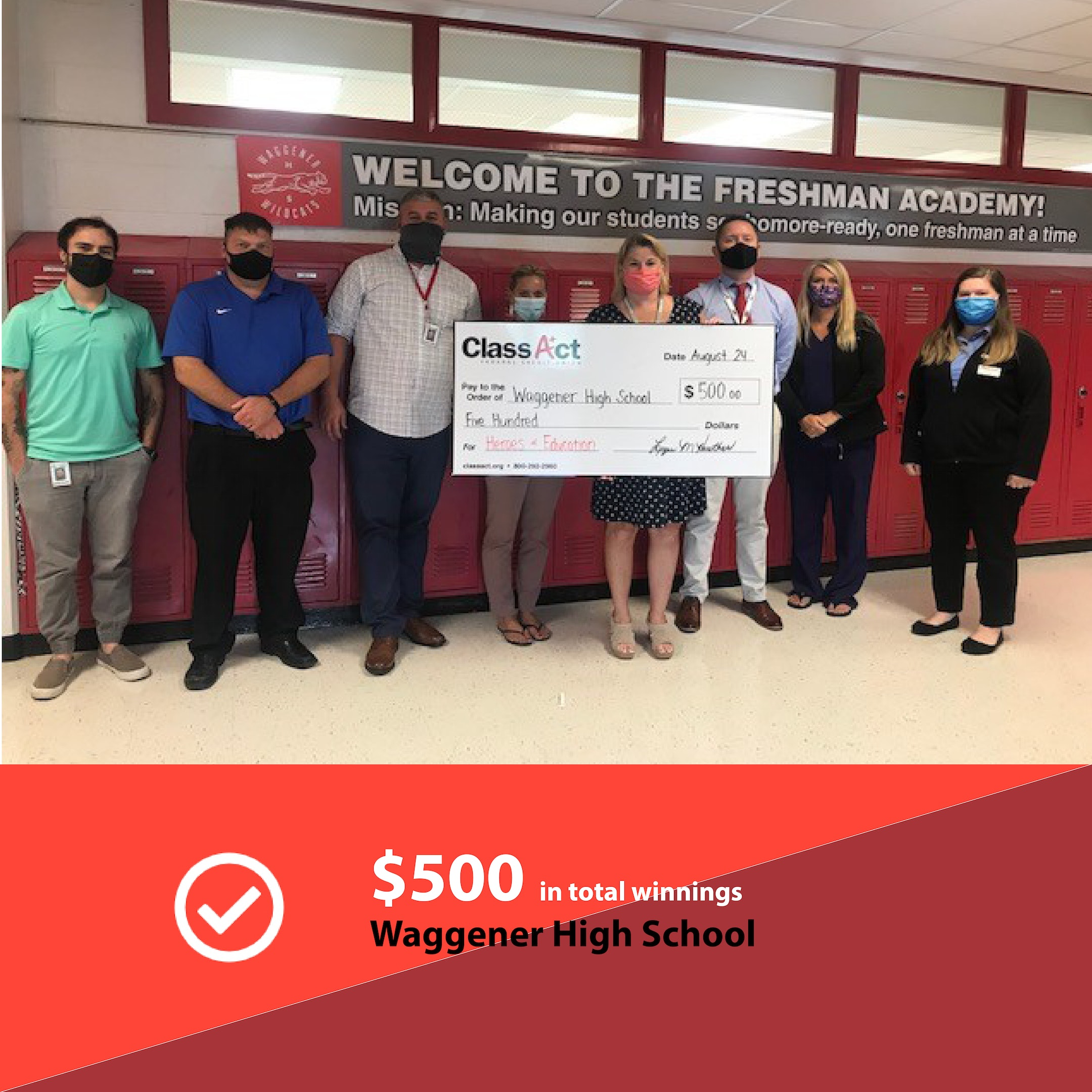 500 Check Image Waggener High