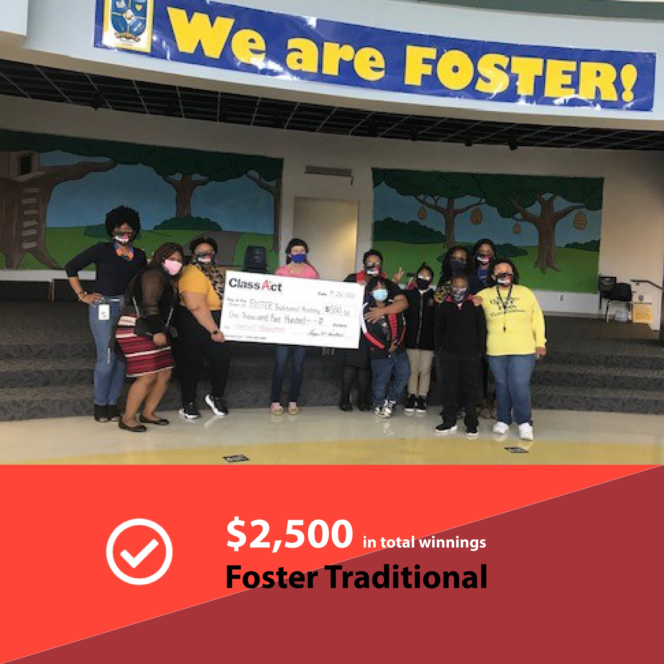 2500 Check Image Foster Traditional 2
