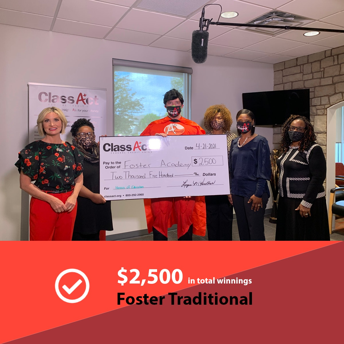 2500 Check Image Foster Traditional 2 0