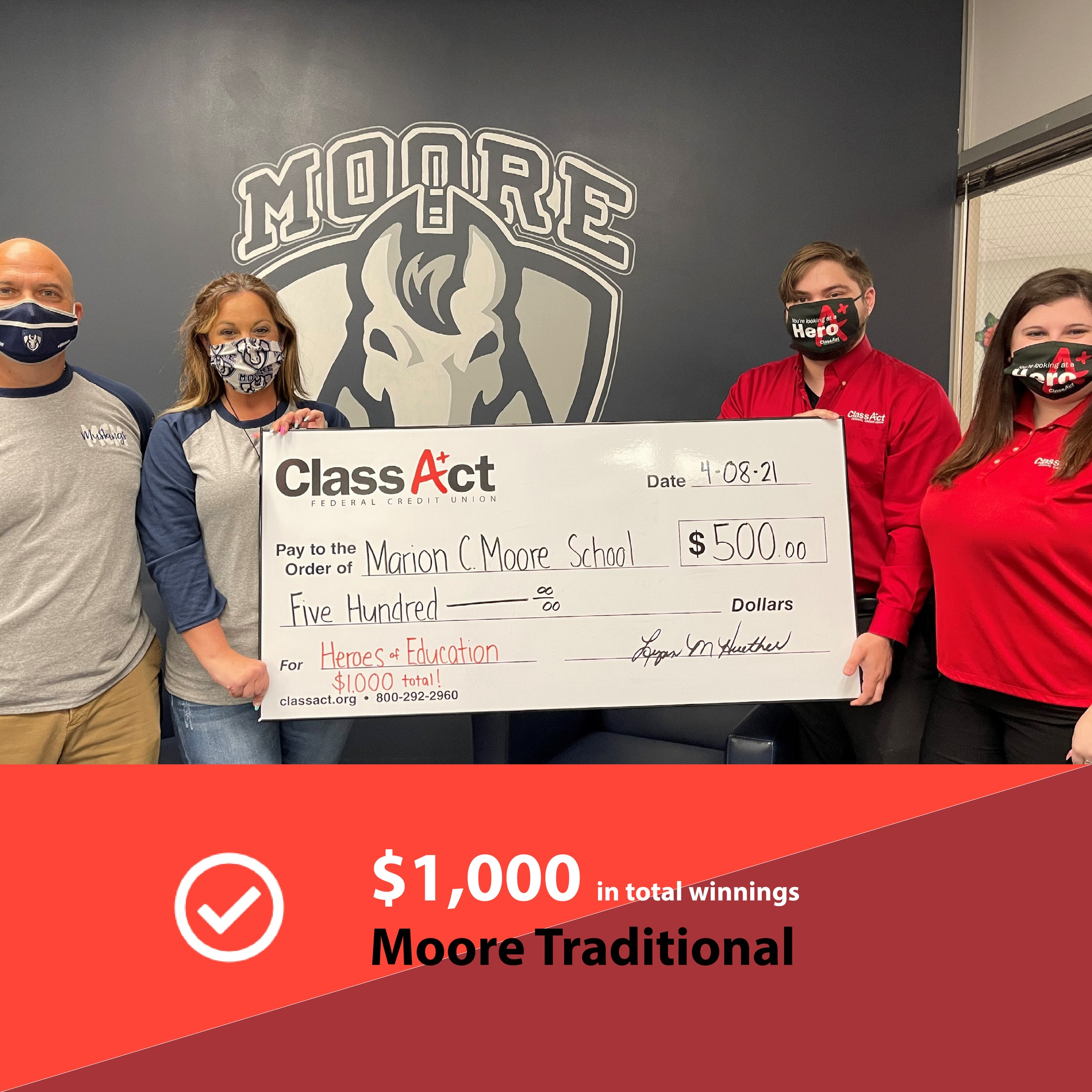1000 Check Image Moore Traditional