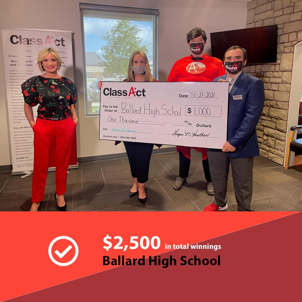 2500 Check Image Ballard High School 2
